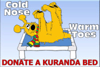 Donate a Kuranda Bed to Dogs 2nd Chance